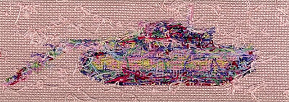 Fortitude - sewn tapestries - steadfast